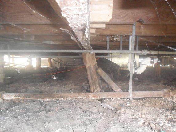 best foundation repair san antonio - beam broken